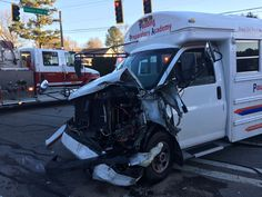 11 taken to hospitals after day care bus crash in Paulding County