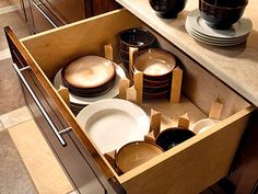 Great way to store dishes