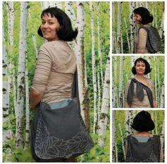 stunning babywearing bag, tyes like a backpack or a shoulderbag!