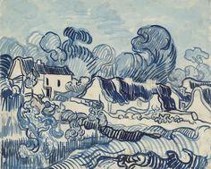 Landschap met huizen - Van Gogh Museum
