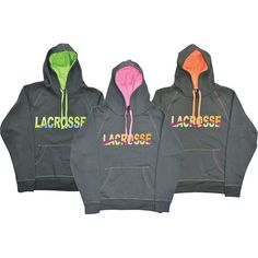 Lacrosse Neon Graphic Hood