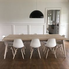 Custom St. Barts mid-century style dining table for a Bridgehampton residence. Installed in time for Memorial Day. @beatriceinteriors #stbarts #teak#diningtable