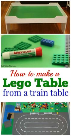 How to make a Lego table!