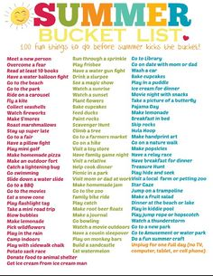 My bucket list for the summer :) DOES ANYONE WANNA BE MY FRIEND OML PLEASE THATS THE FIRST THING I NEED TO DO ZFM.