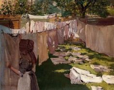 This bucolic scene of a woman hanging clothes to dry in the sun really is in Brooklyn—the Brooklyn of the 1880s, that is, a boom time that gave the city new neighborhoods, parks, and of course, the…