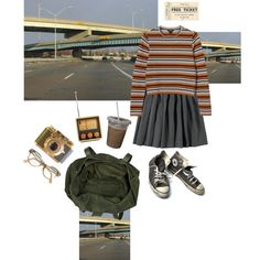 My way or the highway by sborshevsky on Polyvore featuring Monki, River Island…