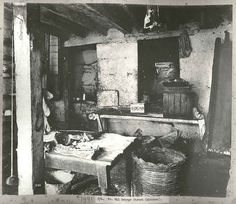 A Sydney kitchen, 1900 From a series of images showing the areas in Sydney affected by the outbreak of Bubonic Plague in 1900. Taken by Mr. John Degotardi, Jr., photographer from the Department of Public Works, the images depict the state of the houses and 'slum' buildings at the time of the outbreak and the cleansing and disinfecting operations which followed. Kitchen in No.841 George Street, Sydney Dated: c. 17/07/1900