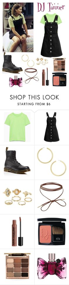 """""""Full House Look 1"""" by noellemary ❤ liked on Polyvore featuring H&M, Dr. Martens, BaubleBar, Charlotte Russe, Christian Dior, Stila and Viktor & Rolf"""