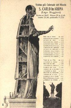 IT, Arona, Statue of SAN Carlo Borromeo.