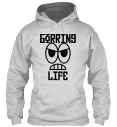 Borring L Ife Ash Grey Sweatshirt Front