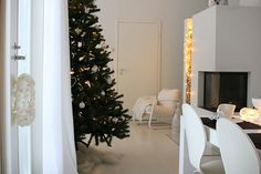 Joulu | All you need is White Let It Snow, Scandinavian Christmas, All You Need Is, Christmas Tree, Holiday Decor, Home Decor, Teal Christmas Tree, Decoration Home, Room Decor