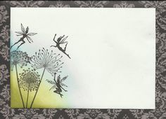 Posts about Mail Art written by aisling Fairy Silhouette, Silhouette Images, Envelope Art, Postcard Art, Stamp Pad, Deco Table, Distress Ink, Mail Art, Faeries