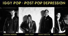 Iggy Pop bows out gracefully on Post Pop Depression Arctic Monkeys Drummer, Post Pop Depression, Josh Homme, Matt Helders, Isle Of Wight Festival, Pop Albums, The Stooges, Iggy Pop, Old Music