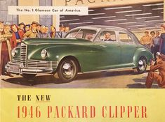 """By Nathan Avots-SmithBy the time this Packard rolled out of Detroit in 1946, the company was the last of the """"three P's"""" of American luxury cars still standing—Pierce-Arrow and Peerless being the fallen two—and alas, the... more»"""