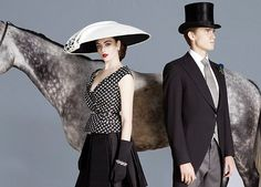 Now THIS is how you're supposed to dress for Royal Ascot: Race course holds its own fashion shoot to show women how to win in the style stakes Race Day Fashion, Fashion Shoot, Love Fashion, Courses Hippiques, New Look Inspire, Royal Ascot Races, Mourning Dress, Kentucky Derby Hats, Equestrian Style