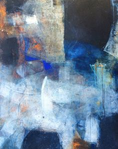 Cold wax, abstract painting, gallery, teaching and painting