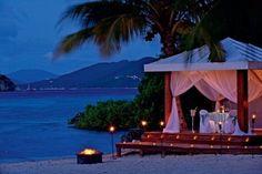 Relax on Beachside Gazebo to Enjoy Nature Beach Romance, Romantic Beach, Romantic Places, Romantic Getaways, Beautiful Places, Romantic Ideas, Peaceful Places, Hopeless Romantic, Beautiful Scenery