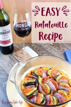Easy Ratatouille wit