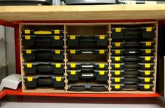 Cool Reader Project: Easy-Access Stanley and HF Organizer Cabinet