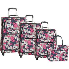 Anne Klein Getaway II 4 Piece Spinner Luggage Set for $459.95 (previously 940$)