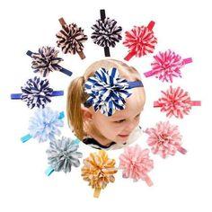 Jecksion Diademas Lovely Girls Headbands Striped Flower Headbands For Girls  Cute Hair Band For Čelenky Pro af2c6b5637