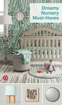 Find ideas to build a cozy nursery for your baby girl or boy with furniture organization ideas & theme decor. Find ideas to build a cozy nursery for your baby girl or boy with furniture organization ideas & theme decor.
