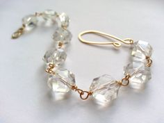 Check out this item in my Etsy shop https://www.etsy.com/listing/194873459/crystal-statement-bracelet-golden-brass