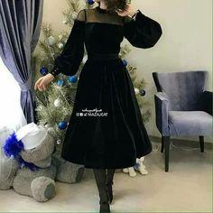 Pretty Outfits, Pretty Dresses, Beautiful Dresses, Gala Dresses, Dress Outfits, Formal Dresses, Abaya Fashion, Fashion Dresses, Plus Size Cocktail Dresses