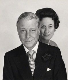 The Duke & Duchess of Windsor - by Cecil Beaton - December 1960  (source historysquee tumblr)
