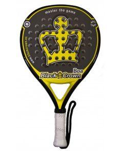 Pala de pádel Black Crown Boa