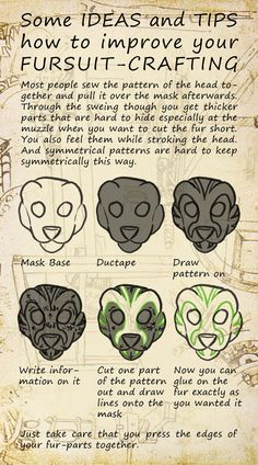 fursuit moving mouth instructions - Google Search
