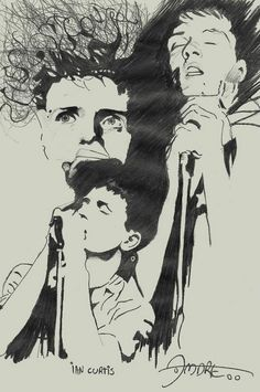 Ian Curtis, Joy Division.
