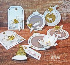 Hobby di Carta - Il blog: Natale Bianco e Oro !