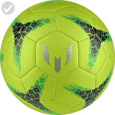 adidas Performance Messi Soccer Ball, Semi Solar Slime/Night Cargo Dust Metallic, 5 for sale Soccer Shop, Play Soccer, Soccer Ball, Soccer Boots, Soccer Cleats, Football Kits, Football Players, Toys For Little Kids, Shocking Blue