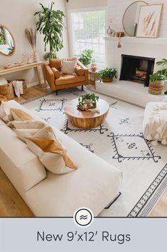 Boho Living Room, Cozy Living Rooms, Home And Living, Living Room Decor, Bedroom Decor, Living Room Modern, Yoga Room Decor, Apartment Living, Interior Design Living Room