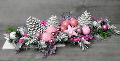 Stroik Bożenarodzeniowy Świąteczny Dekoracja Stół Christmas Wreaths, Christmas Decorations, Xmas, Holiday Decor, Halloween Templates, Floral Wreath, Crafts, Diy, Home Decor