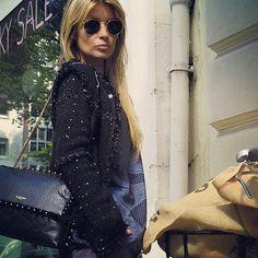 Lanvin bag and lanvin jacket