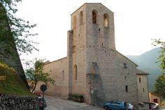 Torre Campanaria - Chiesa di Santa Maria – Vallo di Nera (Umbria)