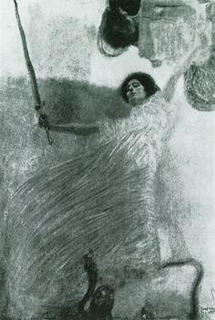 (detail) by Gustav Klimt (1862~1918) | destroyed in 1945