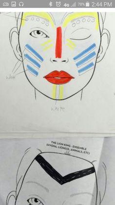 Lk Jr. Makeup Rafiki