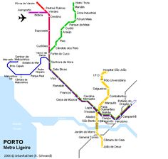nice Porto Alegre Subway Map