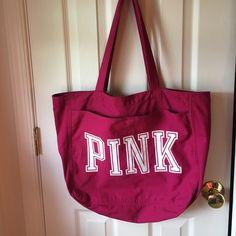 Pink bag Pink tote bag PINK Victoria's Secret Other