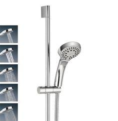 Design shower kit with five spray patterns in Showering<br /> Products | Luxury bathrooms, bathroom design ideas, designer bathrooms