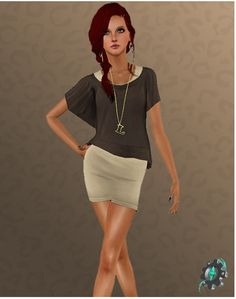 2 Dresses for females at Sims 3 Art Factory - Sims 3 Finds