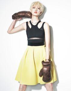 Kang Soyoung by Kim Youngjun for Grazia Korea May 2013