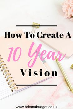 Creating a 10 year plan will help you to make all kinds of decisions today to get you to where you want to be 10 years from now. Read more to find out how. Ways To Save Money, How To Make Money, Goal Setting Life, 10 Year Plan, Journal Writing Prompts, Creating A Vision Board, What Activities, Goal Planning, Goals Planner