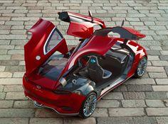 car design /// Ford EVOS concept car