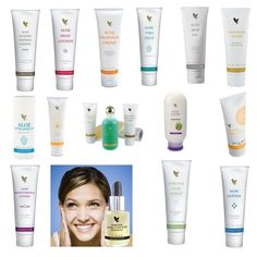 FOREVER LIVING ALOE VERA SKINCARE PRODUCTS - PURE AND FREE FROM HARSH INGREDIENTS - #1 ON INGREDIENT LIST IS MOSTLY ALOE VERA (CHECK OUT INGREDIENT LIST OF THE ALOE VERA PRODCTS YOU HAVE). MSM CREAM, PROPOLIS, HEAT LOTION, TANNING, SCRUB, SUPER MOISTERIZING CREAMS/LOTIONS.