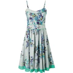 Gorgeous Garden Party Dress (890 MXN) ❤ liked on Polyvore featuring dresses, garden party dress, green cocktail dress and green dress