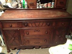 Depression Buffet Makeover - stunning! See at: http://www.hometalk.com/16094691/depression-buffet-makeover?se=fol_new-20160507-1&date=20160507&slg=b631d66d05754d37533063e926b8c496-1110481